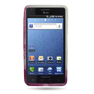 Pink Heart Crystal Skin Gel Case For Samsung Infuse 4g