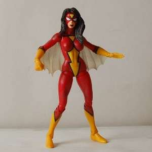 G18 TOY BIZ MARVEL SELECT 6 SPIDER WOMAN FIGURE LOOSE