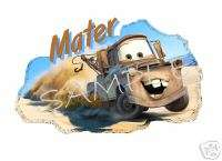 CARS Movie Mater #2 T Shirt DECAL Iron On TRANSFER |