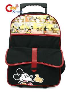 Disney Mickey Mouse Carton Roller Backpack/Bag16 L