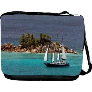 Rikki KnightTM Paradise Island Messenger Bag   Book Bag