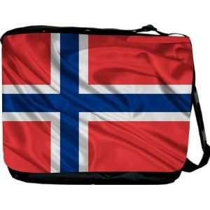 Rikki KnightTM Norway Flag Messenger Bag   Book Bag