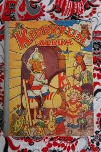 Kiddy Fun Album 1953 Gerald G. Swan Books, Vintage Comic Anual. RARE