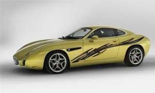 CAR VINYL GRAPHICS BODY FLAME DECAL DODGE RAM 036 1