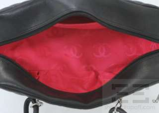 Chanel Black & White Quilted Cambon Shoulder Bag