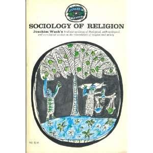 of Religion (Phoenix Books) (9780226867083) Joachim Wach Books