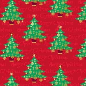 Golden Christmas Value Roll Giftwrap Case Pack 144
