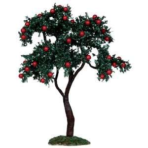 9 Lemax Christmas Village Collection Apple Tree Table