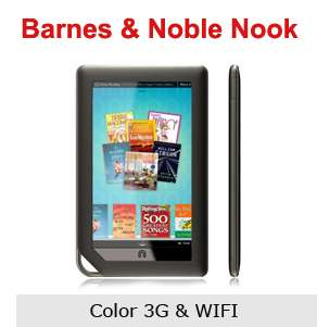 NEW  Nook Color eReader WiFi Tablet Soft Silicone Cover