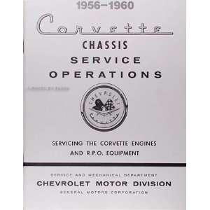 1956 1960 Corvette Engine Tune up & RPO Original Service