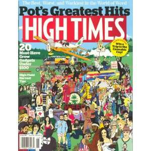 High Times January 2012: Dan Skye: Books
