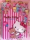 Sanrio Hello Kitty Tiny Chum Stationery Spiral Notebook Handbook (80