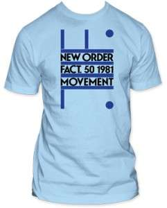 NEW ORDER fact 50 Soft Fit T SHIRT joy division S M L XL http//www