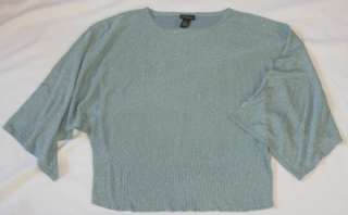 LANE BRYANT Womens Silver Glitter Sweater Holiday Party 2X 22 24 Plus