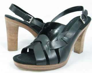 89 ENZO ANGIOLINI ALEI Black Womens Shoes Sandals 9