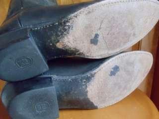 Dan Post Mens Size 10.5 D Black Western Cowboy Boots