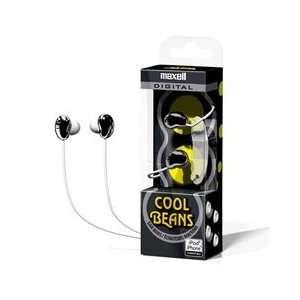 Maxell Cool Beans Digital Ear Buds Black High Quality 10mm