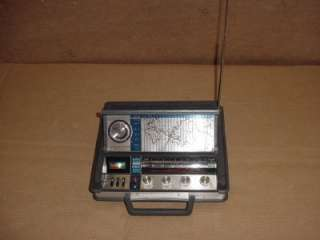 UNIVERSAL PORTABLE RADIO AM/FM MB SW PSB  5 BAND W/ WORLD TIME