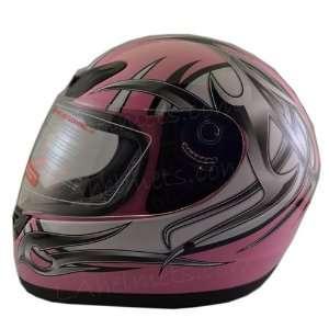 Adult Pink Tribal Full Face Street Helmet FF101 P small Automotive
