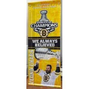 Stanley Cup Mini Street Banner   NHL Flags Banners Sports & Outdoors