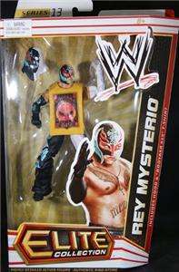 REY MYSTERIO WWE MATTEL ELITE SERIES 13 ACTION FIGURE TOY