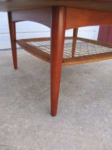 DANISH MODERN SELIG TEAK COFFEE TABLE POUL JENSEN