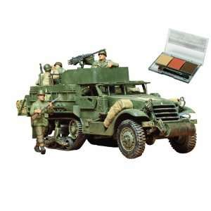 U.S. M3A2 Personnel Carrier (w/Weahering maser) (1/35