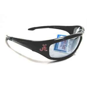 Alabama Crimson Tide Logo Black Sunglasses: Sports