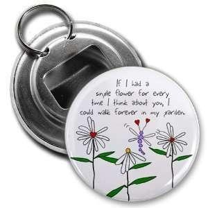 Creative Clam Love Flowers Garden Valentines Day 2.25