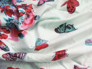 Lovely Butterfly Print Cotton Fabric By The Yard 41