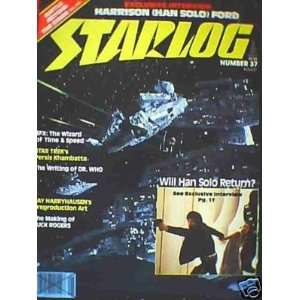 Cover Starlog Magazine Issue # 37 August 1980 Howard Zimmerman Books