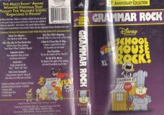 VHS 25th. ANNIV. SCHOOLHOUSE ROCKGRAMMAR ROCK#