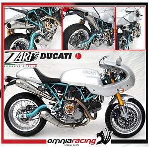 Zard Steel Racing Full Exhaust System Ducati Sport Classic 1000 / Paul