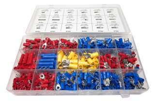 WIRE CONNECTORS TERMINALS KIT   ELECTRICAL WIRING SPLICE 22 10