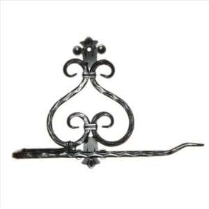 Eagle Mountain Wrought Iron Scroll Paper Towel Holder Wall