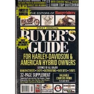 HYBRID OWNERS PLUS CUSTOM BIKE HANDBOOK!: EASYRIDERS MAGAZINE: Books