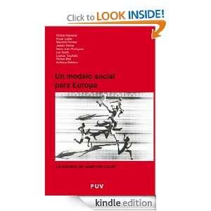 Un modelo social para Europa (Spanish Edition) VV.AA.