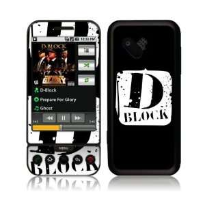 Music Skins MS DBLK10009 HTC T Mobile G1  D Block  Logo