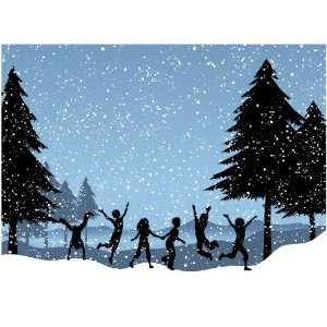 Joyous Winter Snow Storm by Paperwhite (Christmas Cards, Holiday Cards