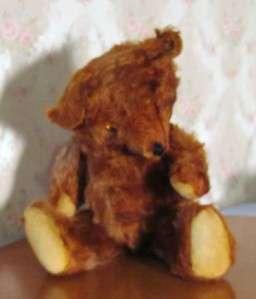 Antique Early Mohair Knickerbocker Cinnamon Teddy Bear