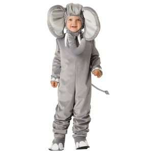 Character Costumes Lil Elephant Toddler Costume / Gray   Size Small 3T