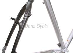 Carbon/Aluminum Performance City Road Bicycle Bike Frame 22.5