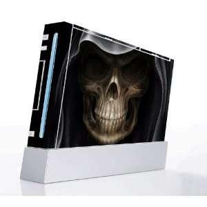 Skull Dark Lord Decorative Protector Skin Decal Sticker for Nintendo