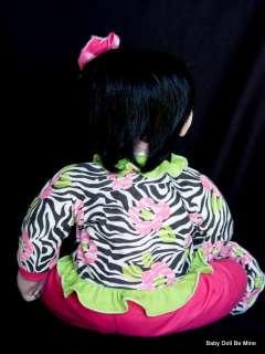 in Box ♥ Adora ♥ ZEBRA ROSE 20 Doll with Black Hair * Brown Eyes