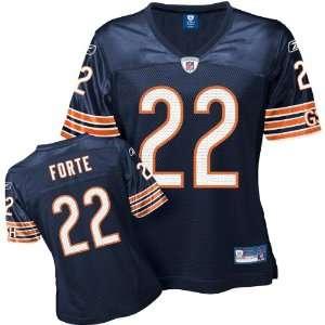 Reebok Chicago Bears Matt Forte Womens Replica Jersey