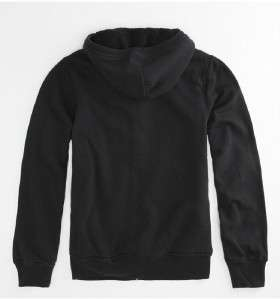 RVCA Mens Black Sherpa Zip Hoodie Sweatshirt Jacket NWT