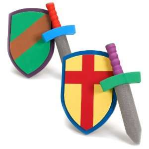 Lets Party By Fun Express Foam Sword and Armor Set