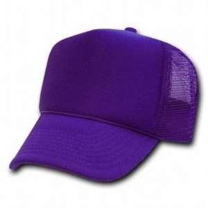 Decky Purple Mesh Trucker Style Cap Hat Caps Hats