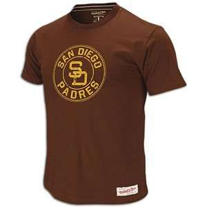 Padres Mitchell & Ness MLB On Deck Circle T Shirt   Mens