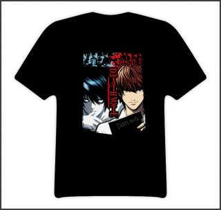 Death note pair anime t shirt